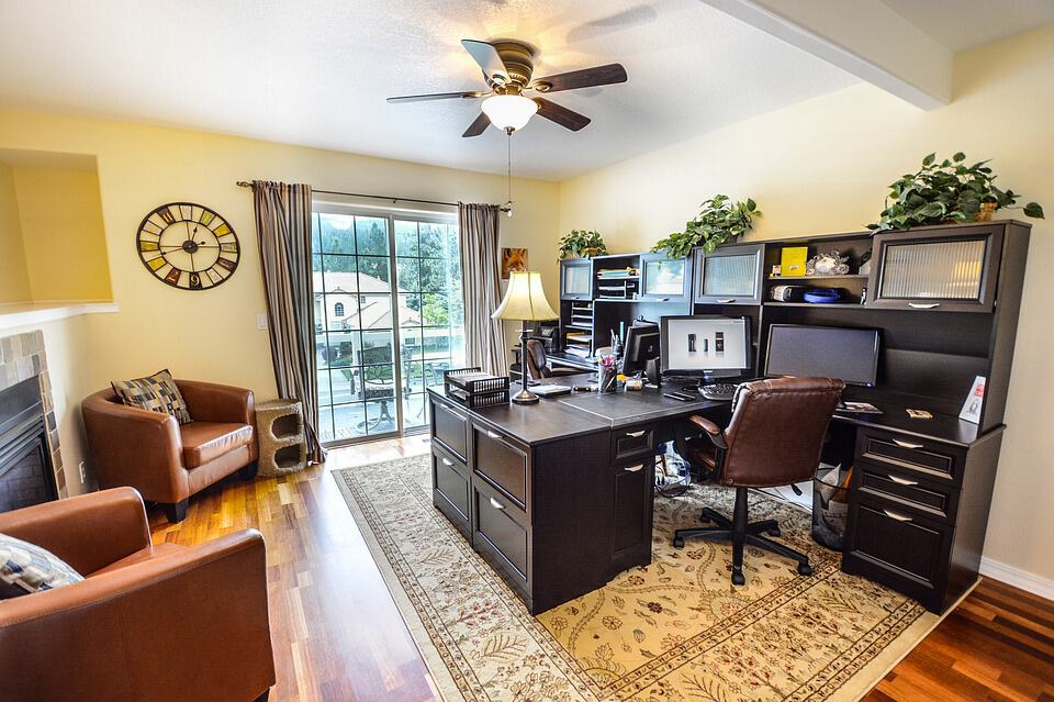 A Very Plush Home Office For A Lucky Digital Nomad