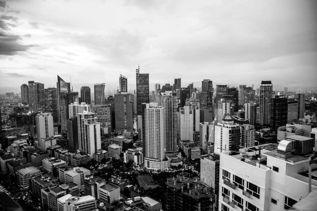 The Manila Skyline A Popular Digital Nomad Destination