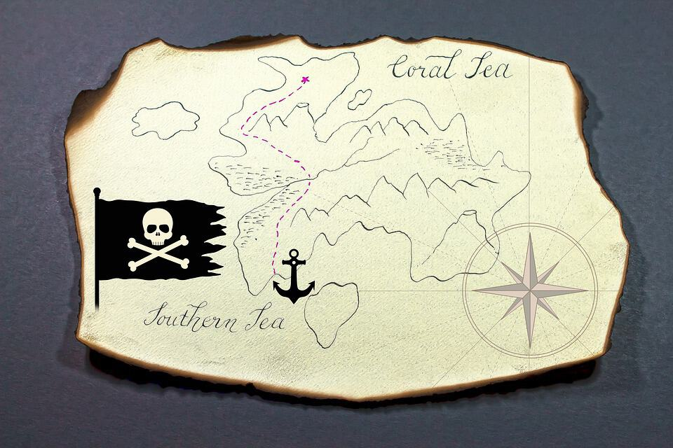 A Pirate Treasure Map For Unprepared Nomads