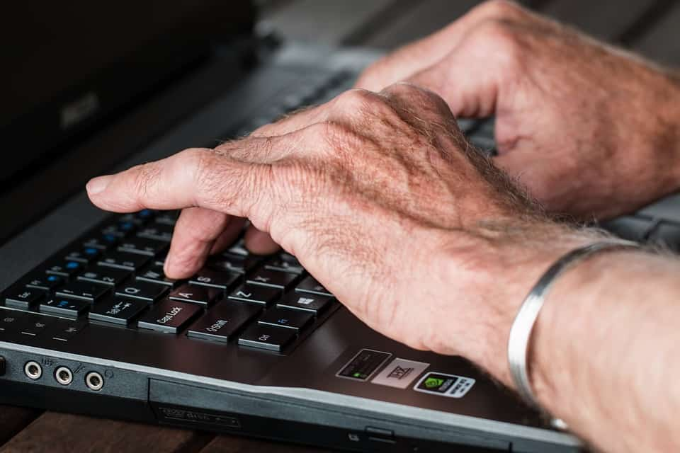 The freelancer's life looks a lot like these hands poised over a keyboard.