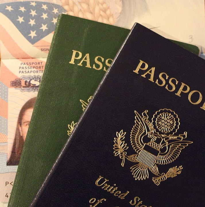 Passports because you need them over and over again.