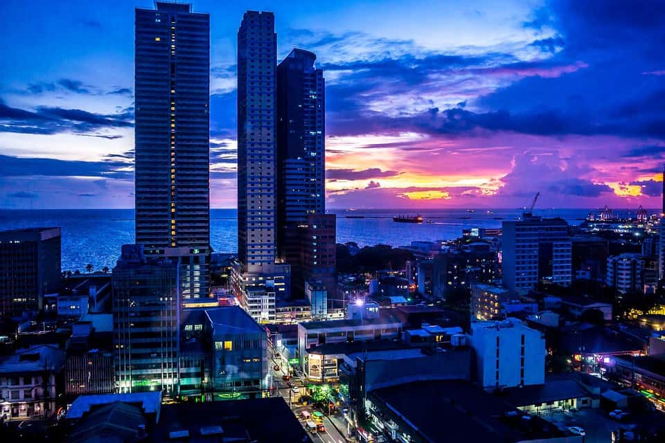 Shopping Area In Manila