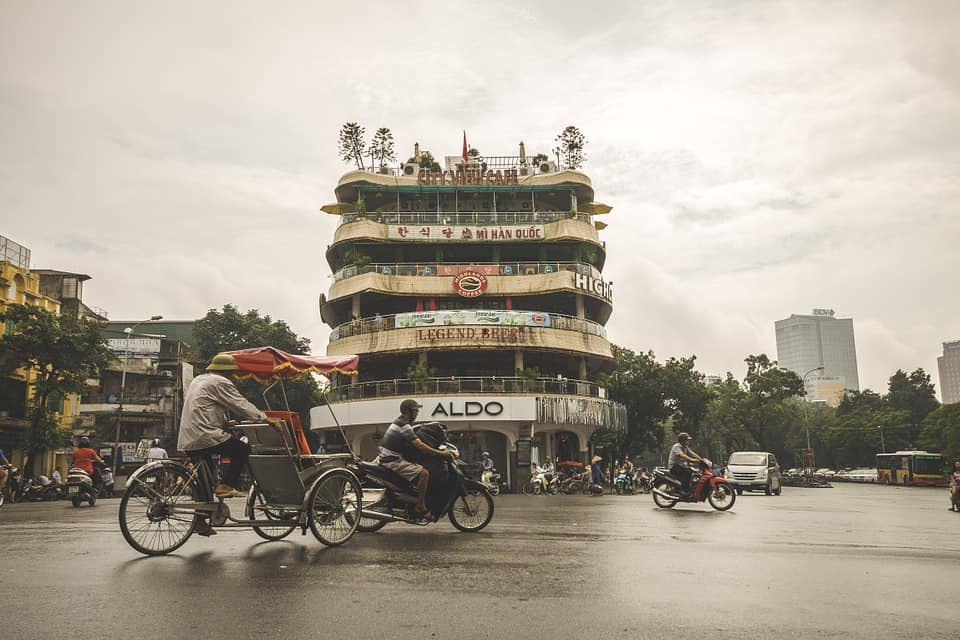This is the biggest city in Vietnam.