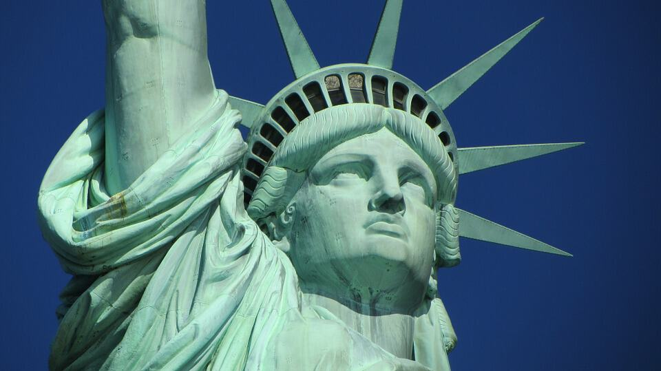 The Lady of Liberty herself. The ultimate sign for all of us nomads.