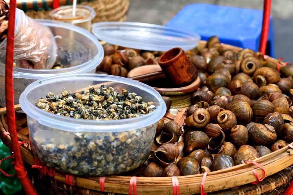 Food in Vietnam, it's delicious!